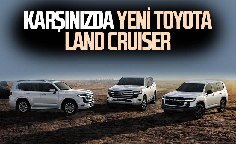 Yeni nesil Toyota Land Cruiser tanıtıldı