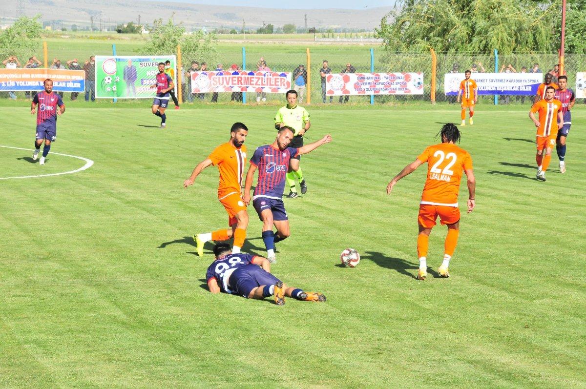 Suvermez Kapadokyaspor'un başkanı oksijen tüpüyle maç izledi #5