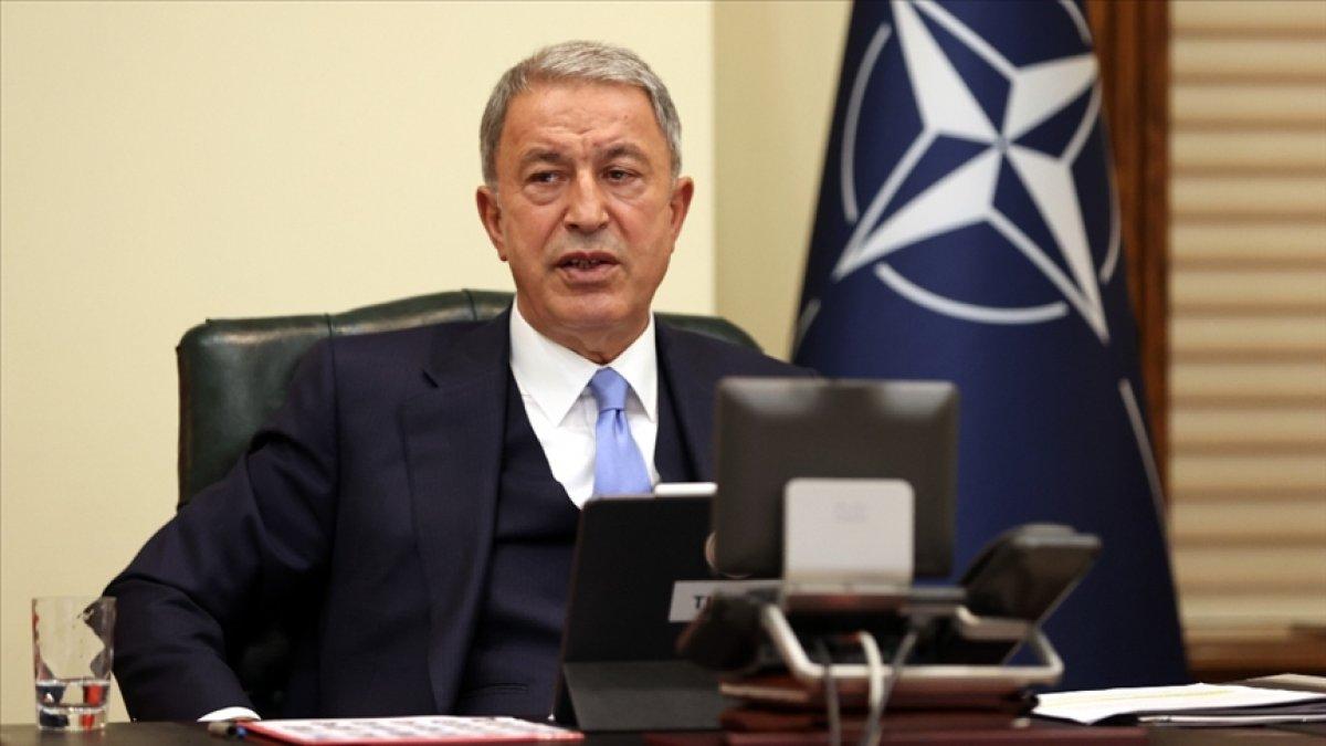 Hulusi Akar: NATO, gerçek bir müttefiklik ruhu içinde çalışmalı #1