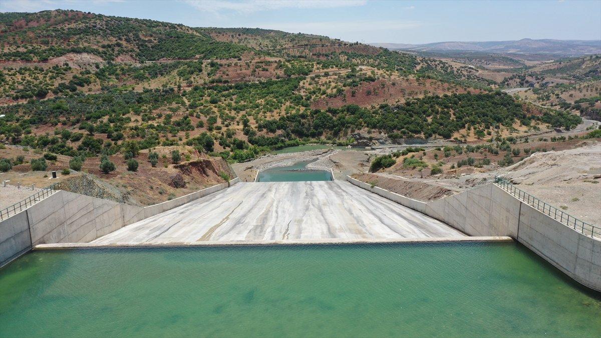 Kilis teki Yukarı Afrin Barajı, bugün açıldı #10