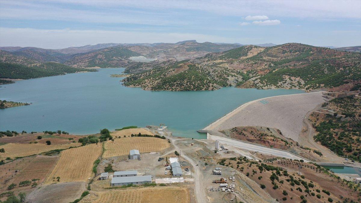Kilis teki Yukarı Afrin Barajı, bugün açıldı #1