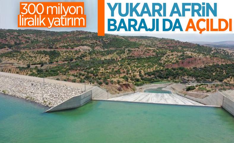 Kilis'teki Yukarı Afrin Barajı, bugün açıldı