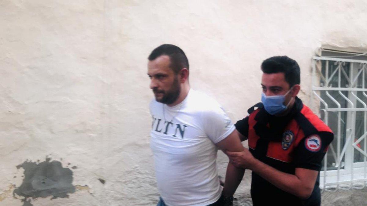 Bursa da polisin  dur  ihtarına uymayan sürücü, kovalamaca sonucu yakalandı #8