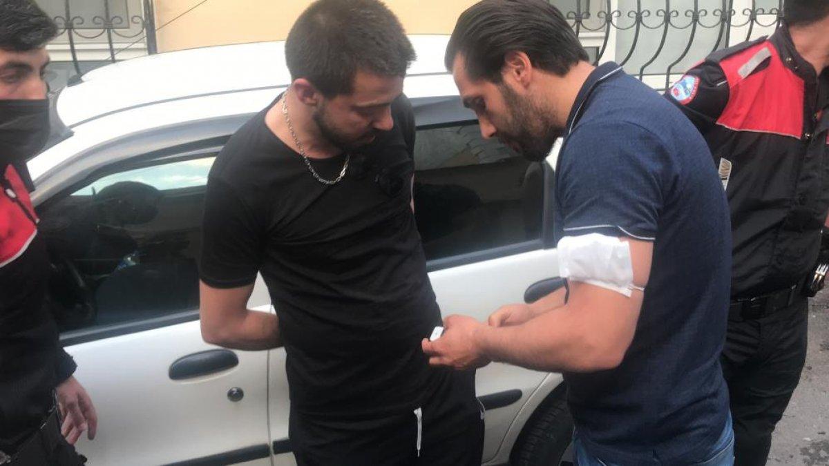 Bursa da polisin  dur  ihtarına uymayan sürücü, kovalamaca sonucu yakalandı #5