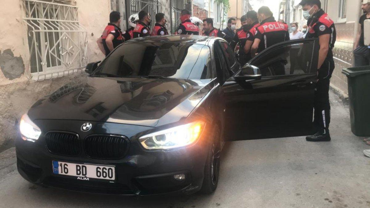 Bursa da polisin  dur  ihtarına uymayan sürücü, kovalamaca sonucu yakalandı #7
