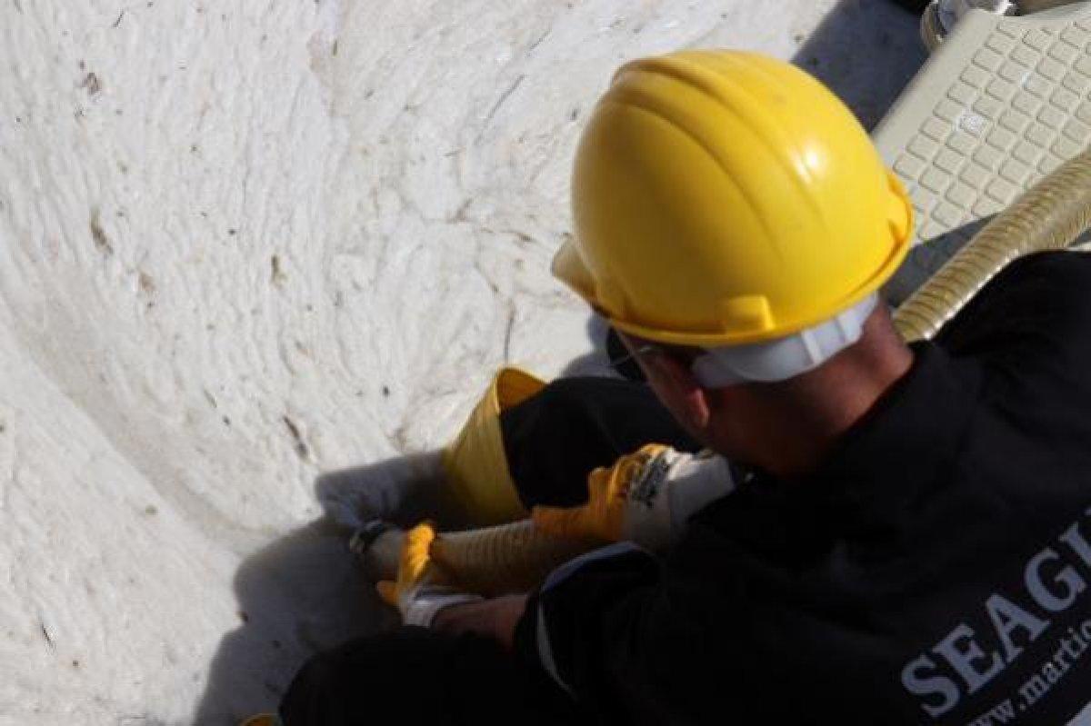 Çanakkale Boğazı temizleniyor: 3 günde 37 metreküp müsilaj toplandı #2