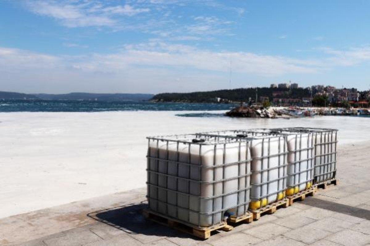 Çanakkale Boğazı temizleniyor: 3 günde 37 metreküp müsilaj toplandı #5