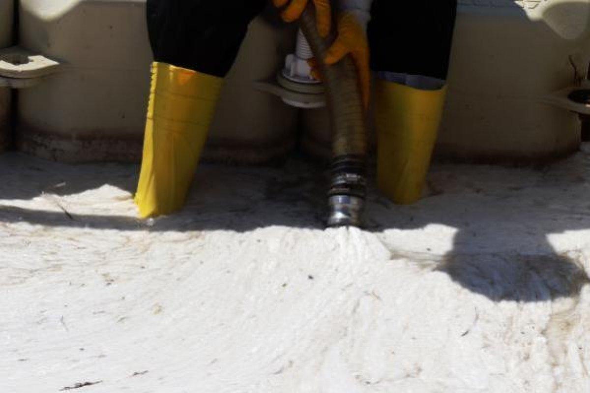 Çanakkale Boğazı temizleniyor: 3 günde 37 metreküp müsilaj toplandı #3