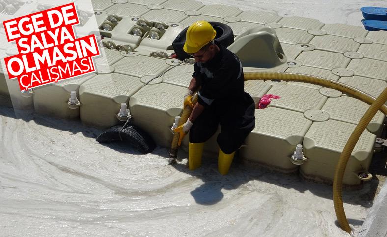 Çanakkale Boğazı temizleniyor: 3 günde 37 metreküp müsilaj toplandı