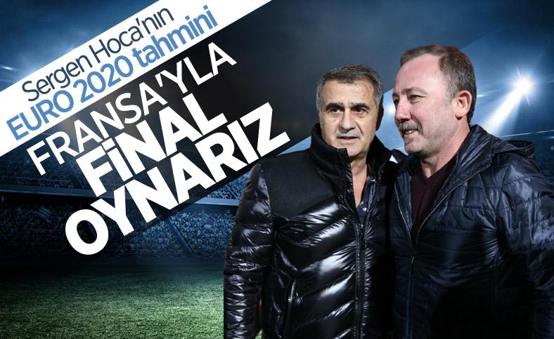 Sergen Yalçın: Türkiye ile Fransa final oynar