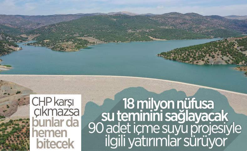 Cumhurbaşkanı Erdoğan, Yukarı Afrin Barajı ve İsale Hattı'nın açılış törenine katıldı