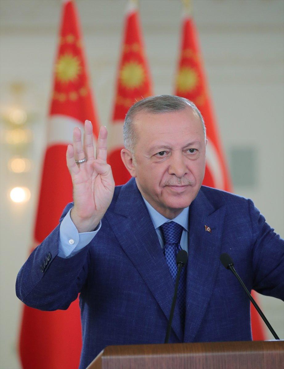 Cumhurbaşkanı Erdoğan, Yukarı Afrin Barajı ve İsale Hattı nın açılış törenine katıldı #2
