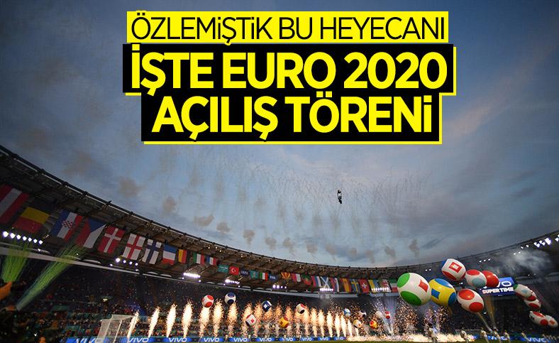 EURO 2020 başladı