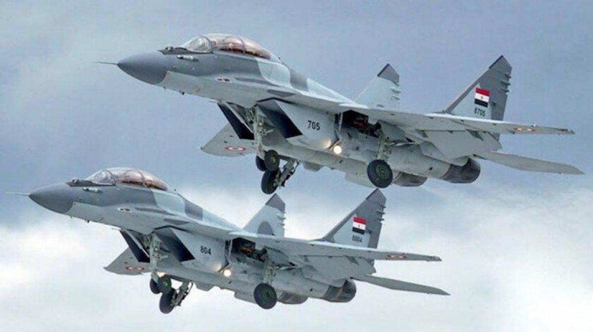 Mısır ve Fransa dan ortak hava tatbikatı #1