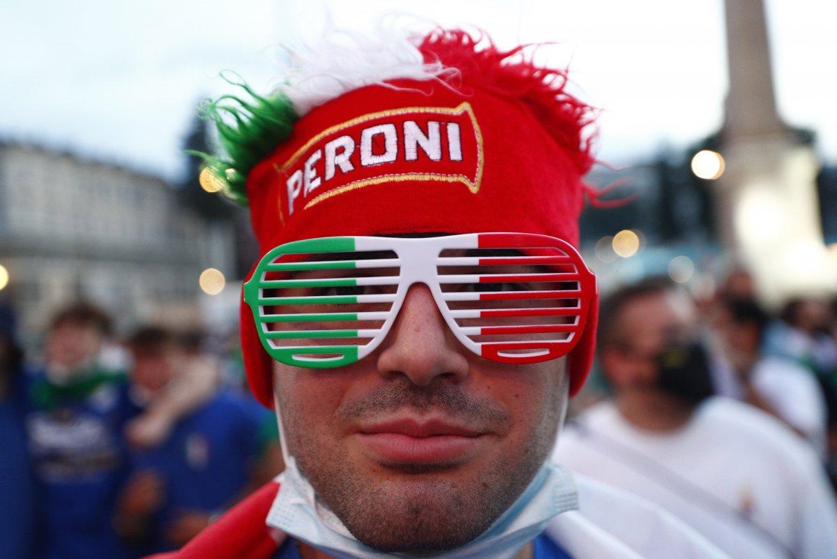 İtalya-Türkiye maçından renkli kareler #4