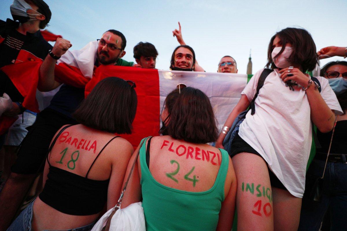 İtalya-Türkiye maçından renkli kareler #3