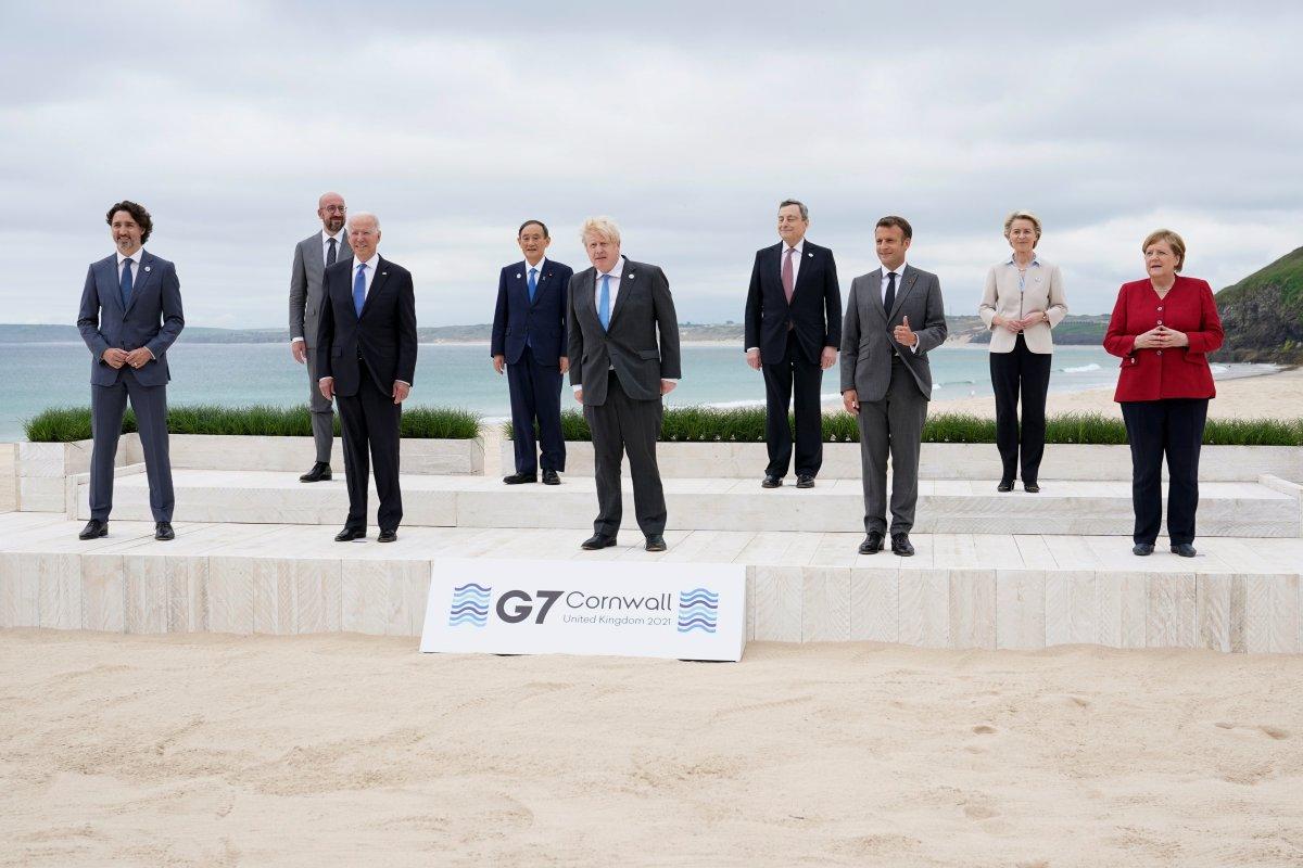 İngiltere de G7 Zirvesi başladı #17