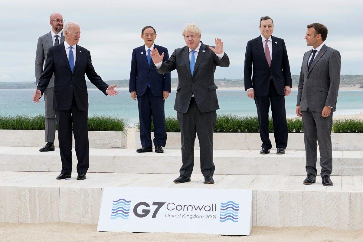 İngiltere de G7 Zirvesi başladı #4