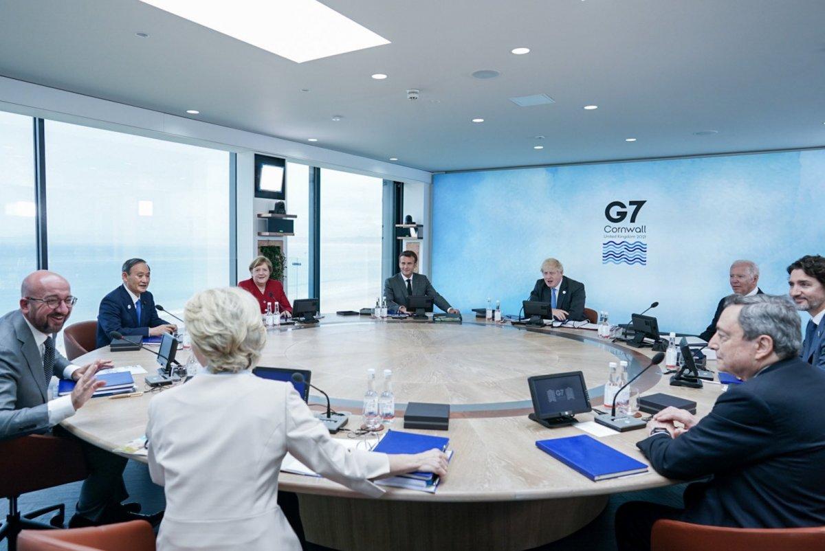 İngiltere de G7 Zirvesi başladı #3