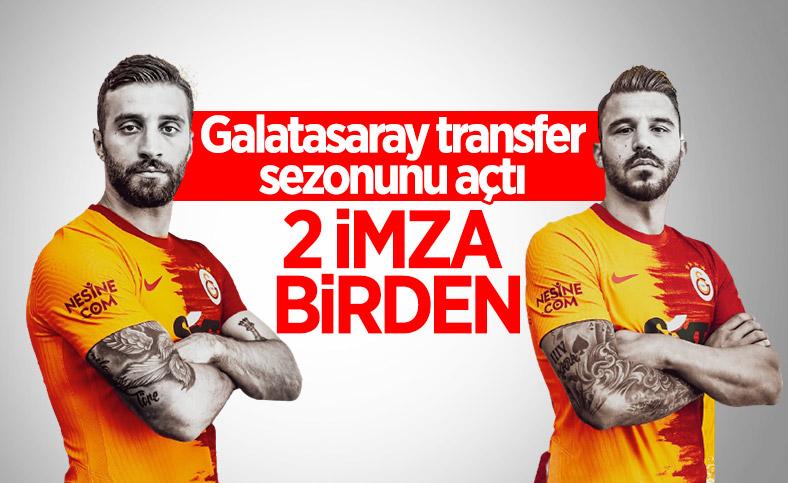 Galatasaray 2 oyuncuyu birden açıkladı