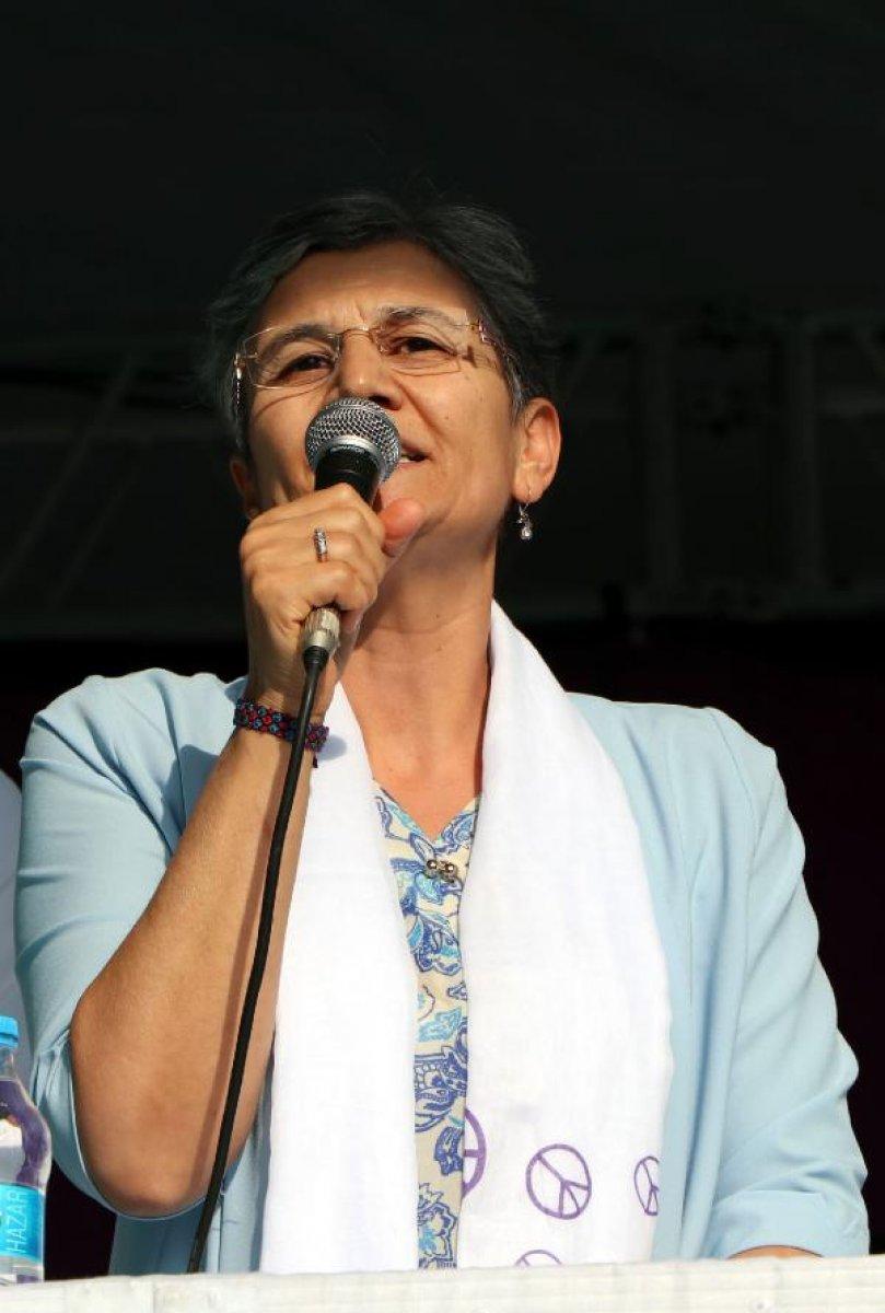 HDP li Leyla Güven in 22 yıl 3 ay hapis cezasına istinaftan onama  #1