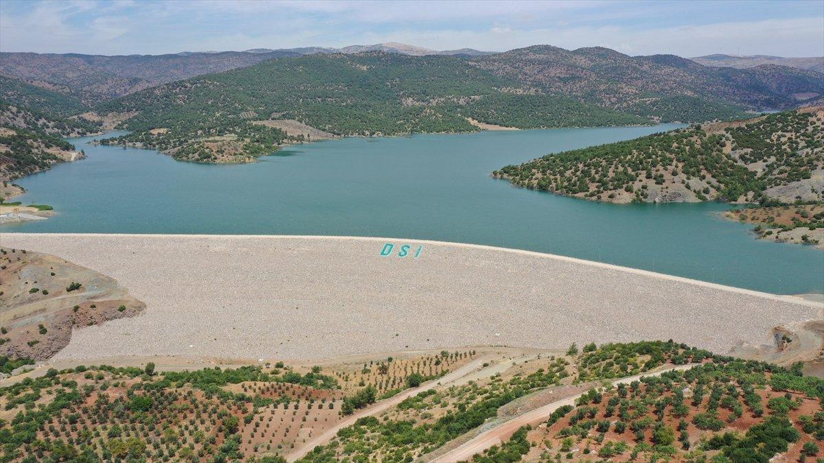 Kilis teki Yukarı Afrin Barajı, bugün açıldı #8