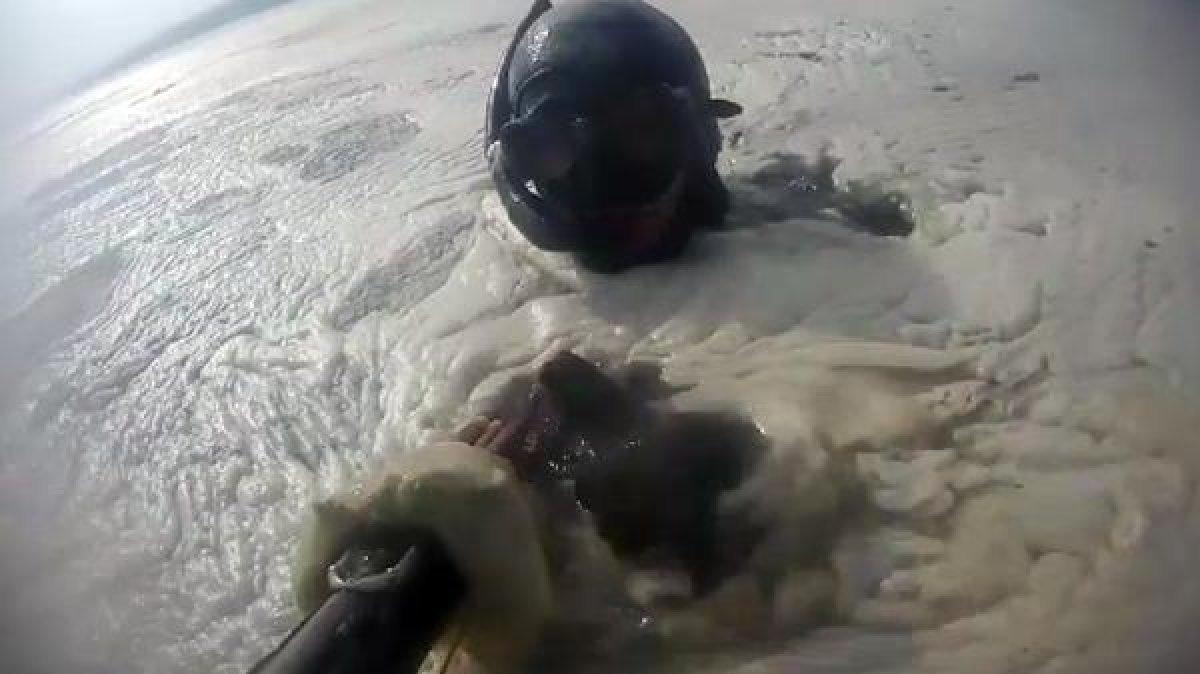 Kocaeli de müsilajın denizaltındaki tahribatı görüntülendi  #1
