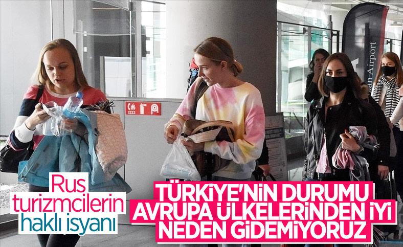 Rus turizmciler, Türkiye ile uçuşların tekrar başlamasını talep etti