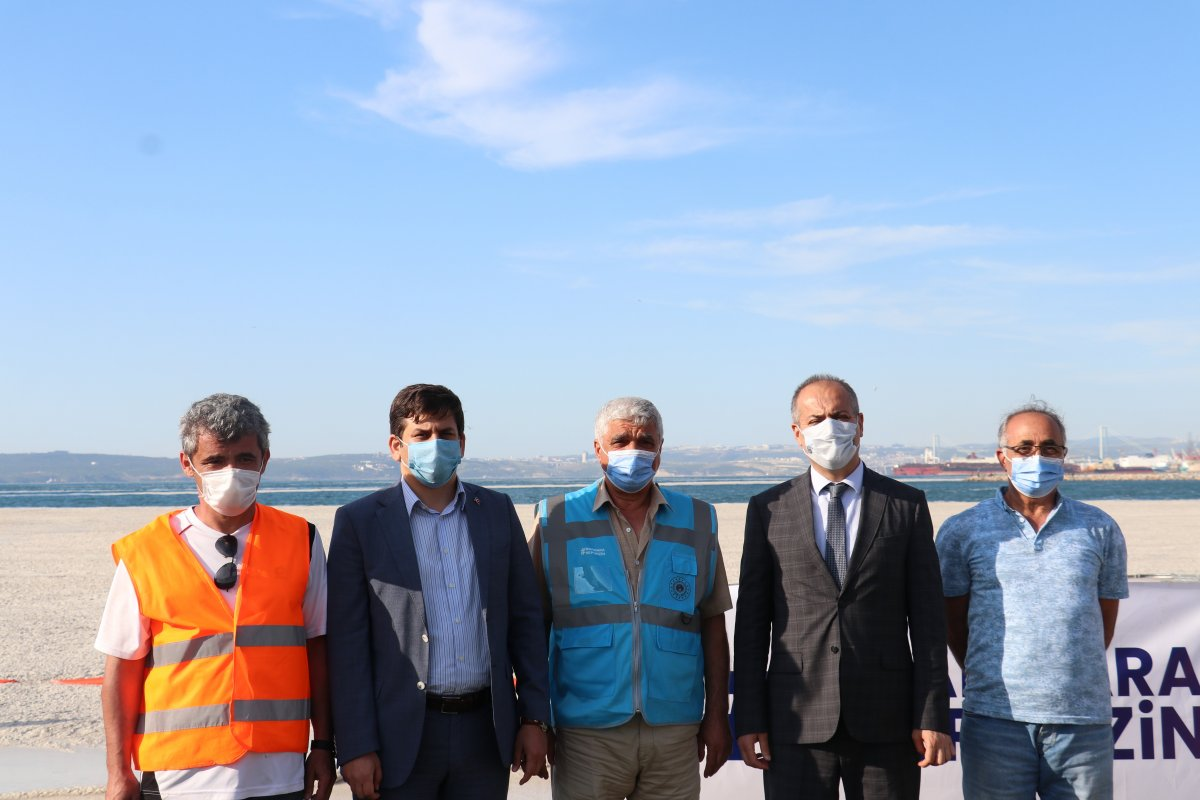 Yalova'da müsilaj temizliği 353 metreküpe ulaştı #4