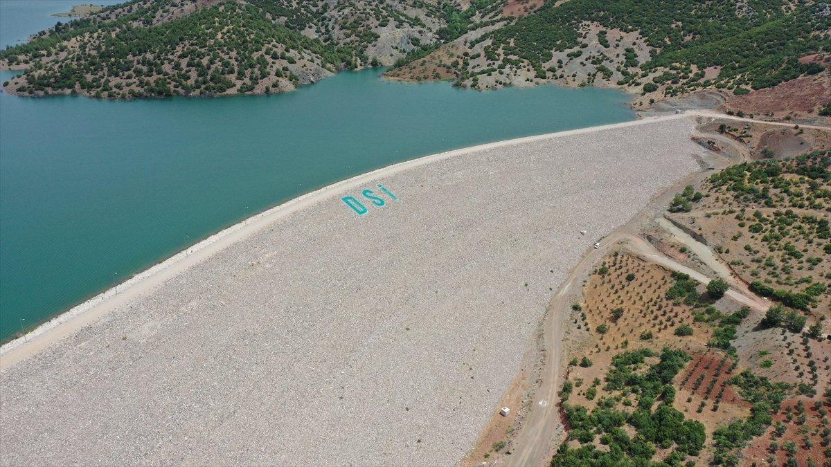 Kilis teki Yukarı Afrin Barajı, bugün açıldı #6