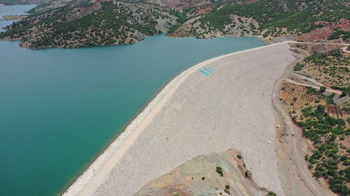 Kilis teki Yukarı Afrin Barajı, bugün açıldı #4