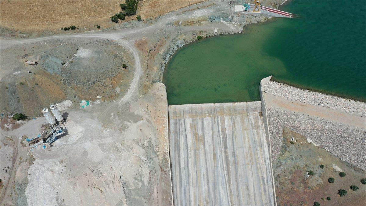 Kilis teki Yukarı Afrin Barajı, bugün açıldı #5