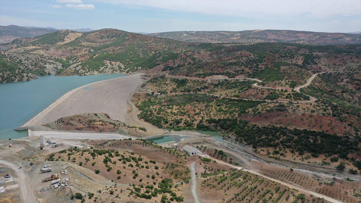 Kilis teki Yukarı Afrin Barajı, bugün açıldı #2