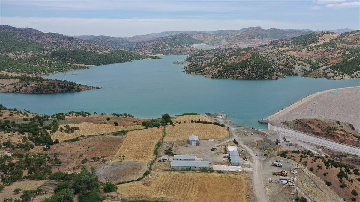 Kilis teki Yukarı Afrin Barajı, bugün açıldı #3