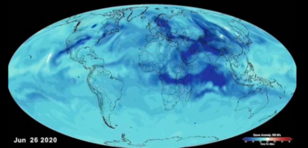 NASA, karantinaların hava kirliliğini ne kadar azalttığını açıkladı #2