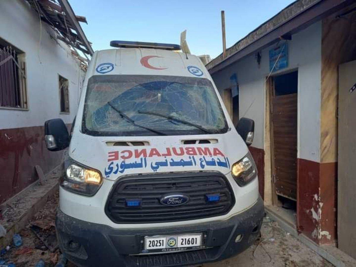 Hatay Valiliği: Afrin de tedavi gören 13 sivil hayatını kaybetti  #3