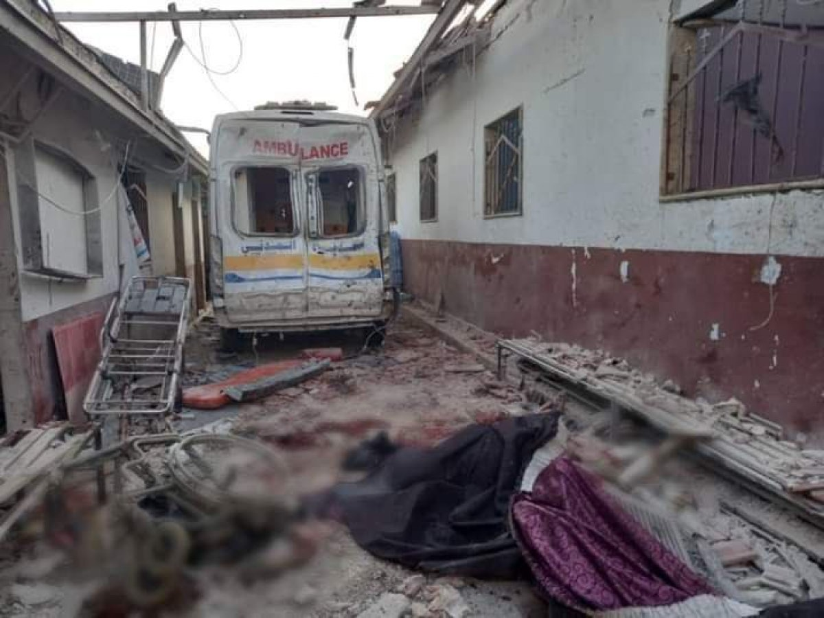 Hatay Valiliği: Afrin de tedavi gören 13 sivil hayatını kaybetti  #4