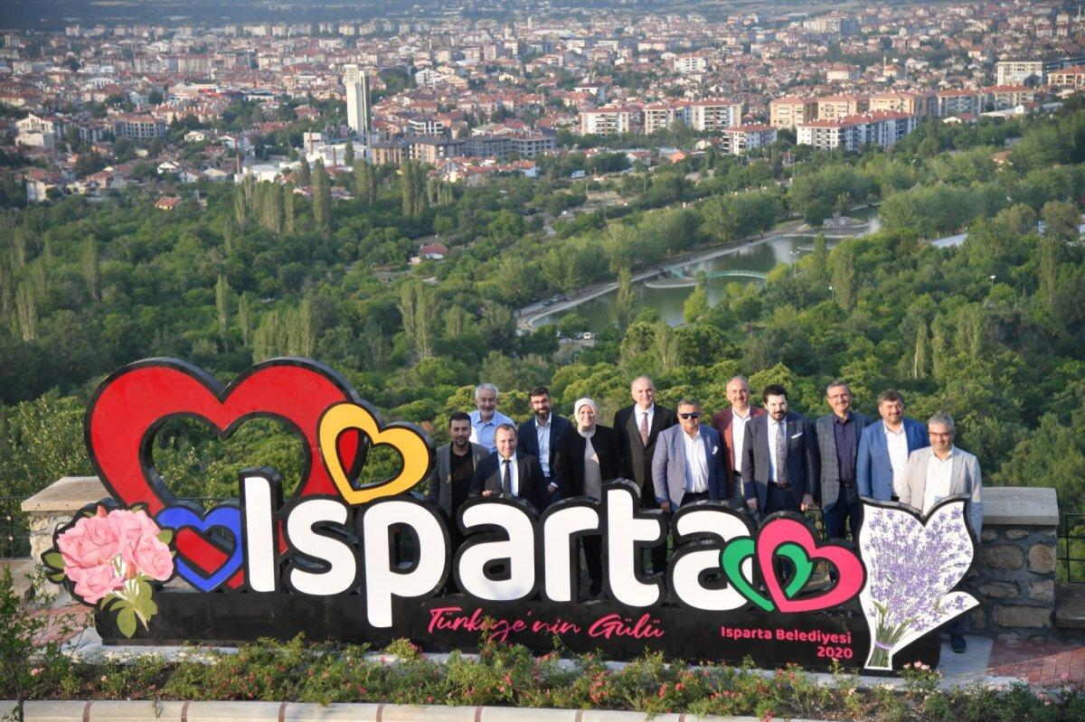 AK Parti belediyeleri Isparta ya çıkarma yaptı #7