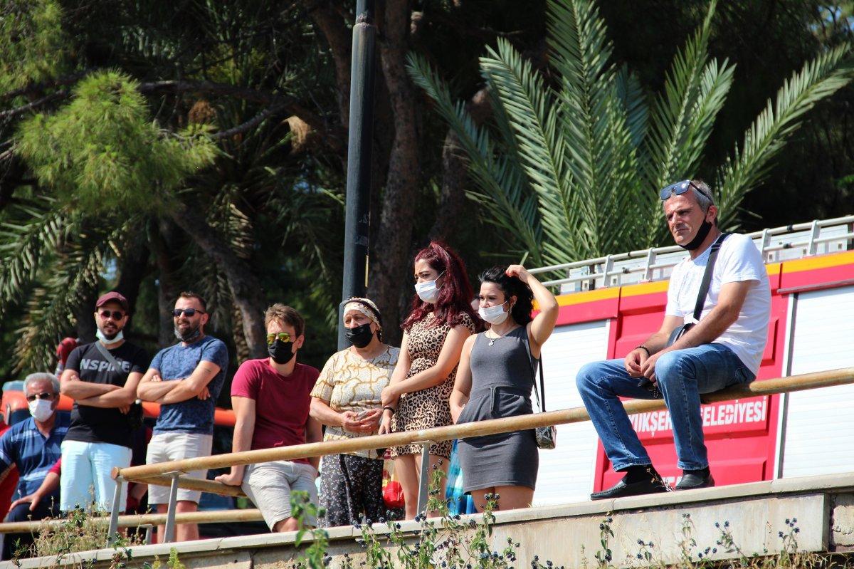 Antalya da itfaiye ceset çıkarma derdinde vatandaşlar ise izleme #2