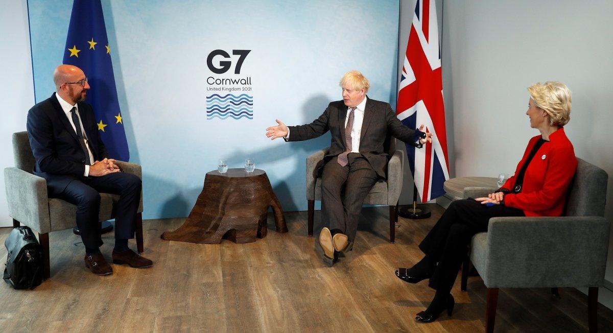 Boris Johnson, Charles Michel ve Ursula von der Leyen ile görüştü #2