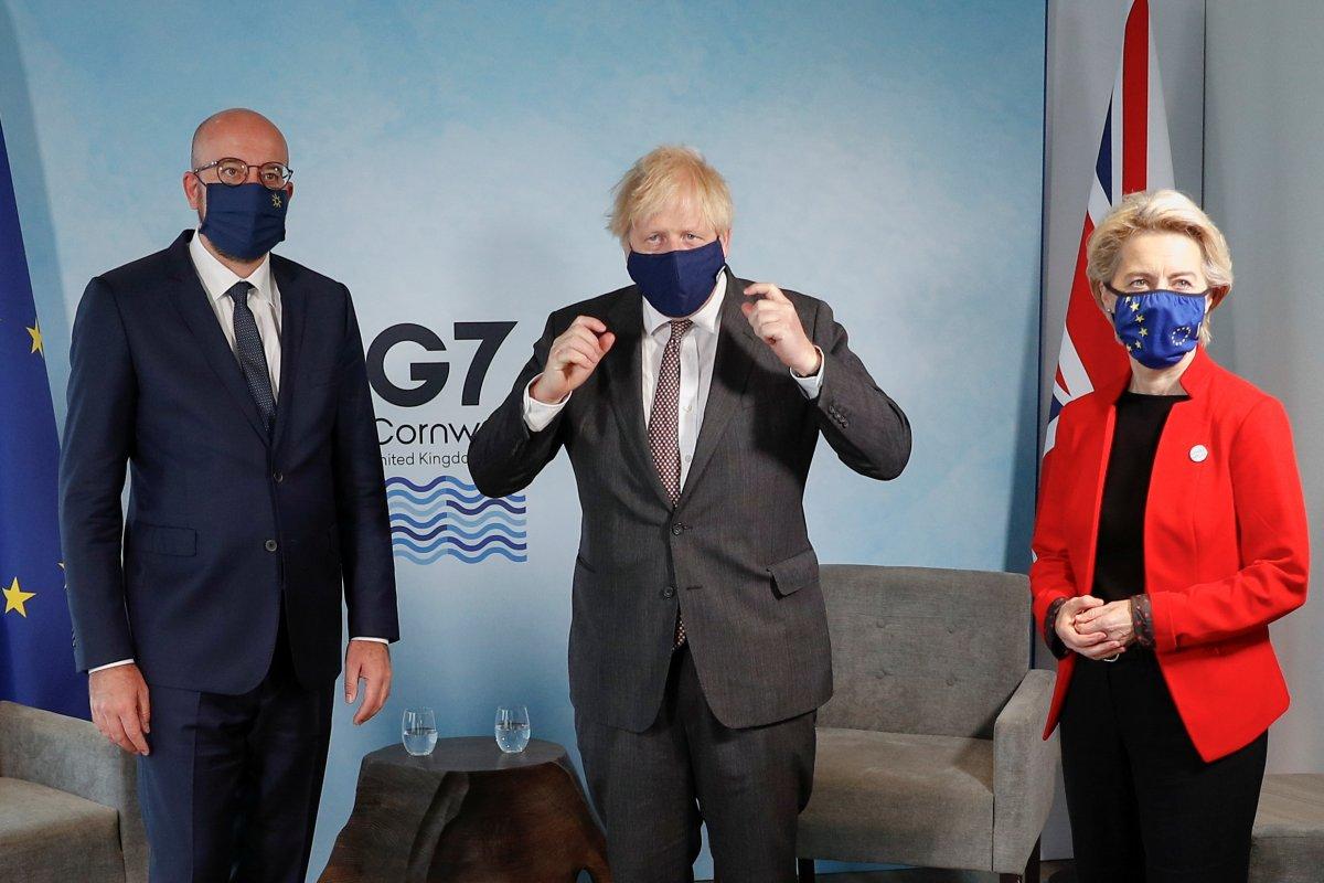 Boris Johnson, Charles Michel ve Ursula von der Leyen ile görüştü #1