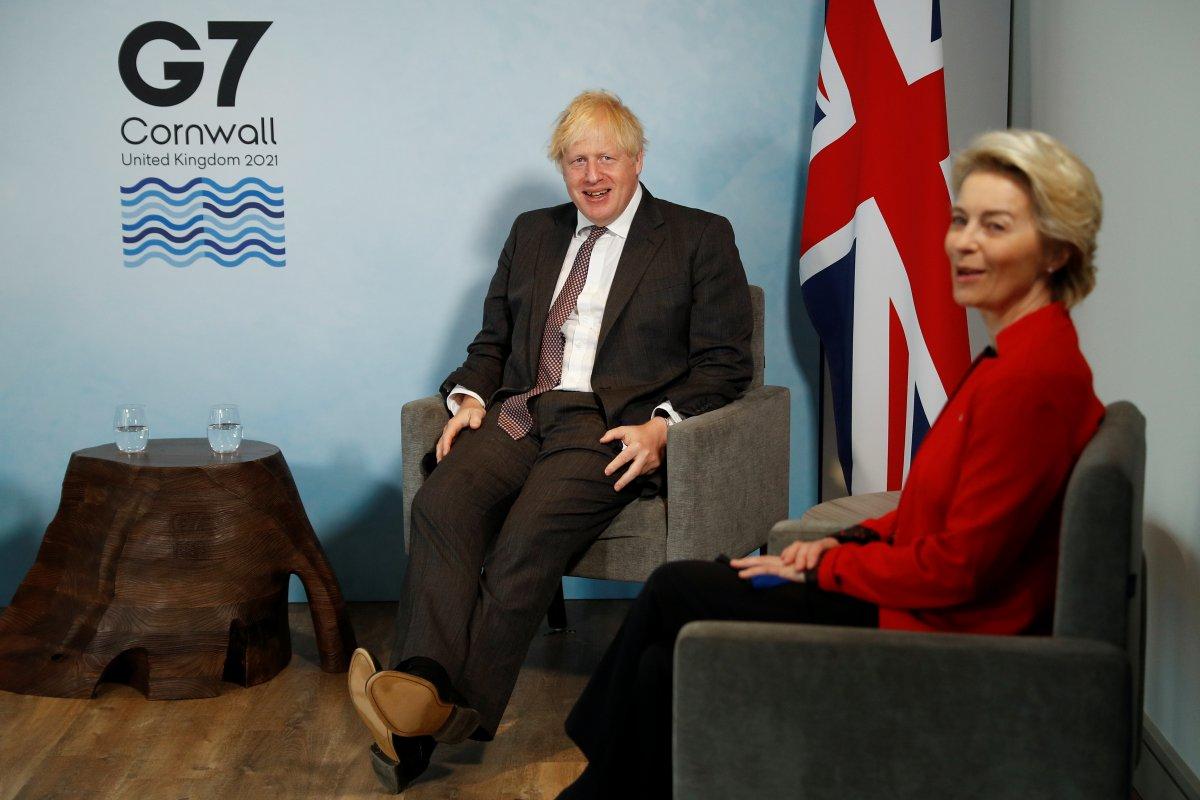 Boris Johnson, Charles Michel ve Ursula von der Leyen ile görüştü #4
