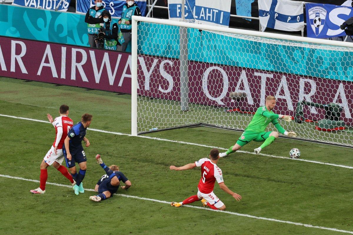 Finlandiya, Danimarka yı mağlup etti #2