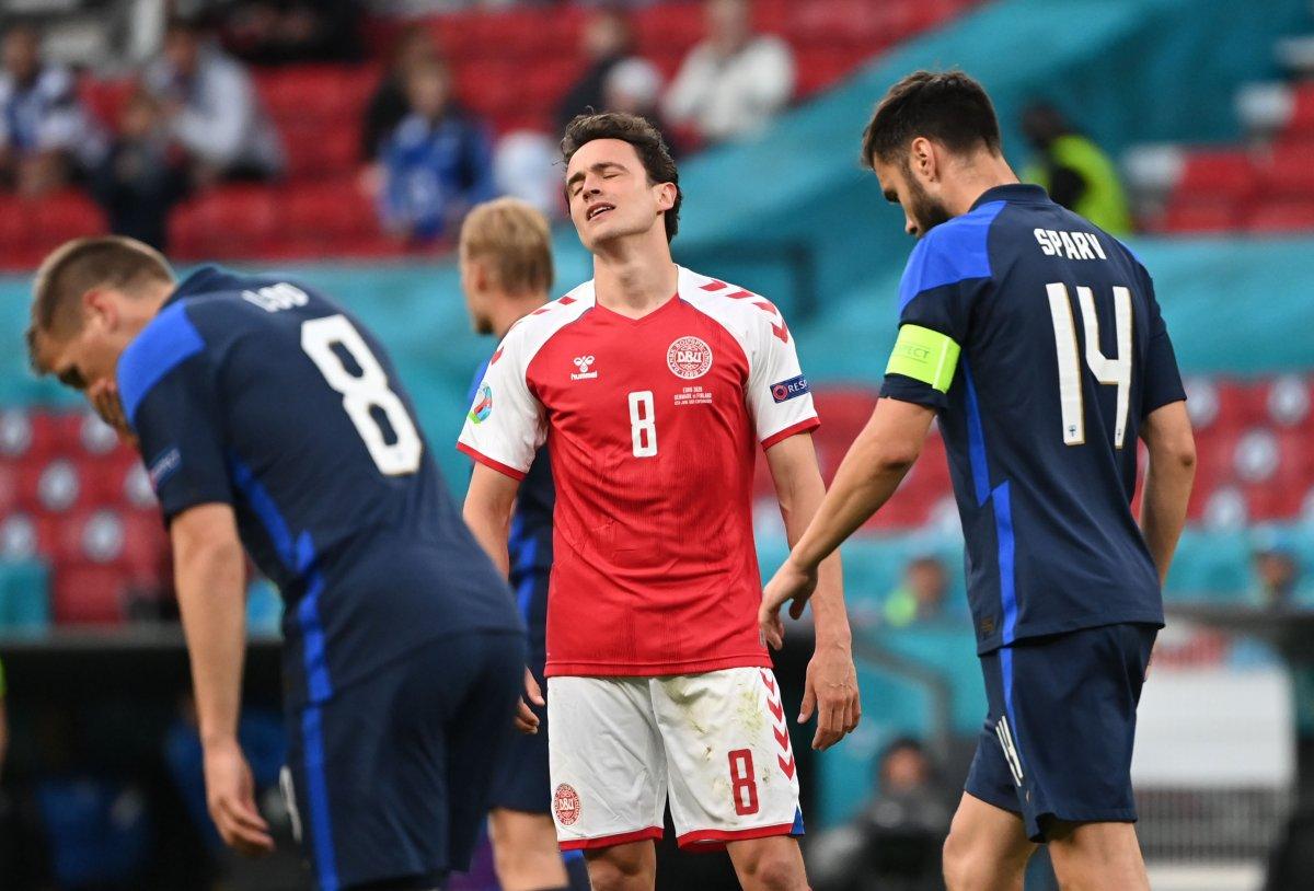 Finlandiya, Danimarka yı mağlup etti #1