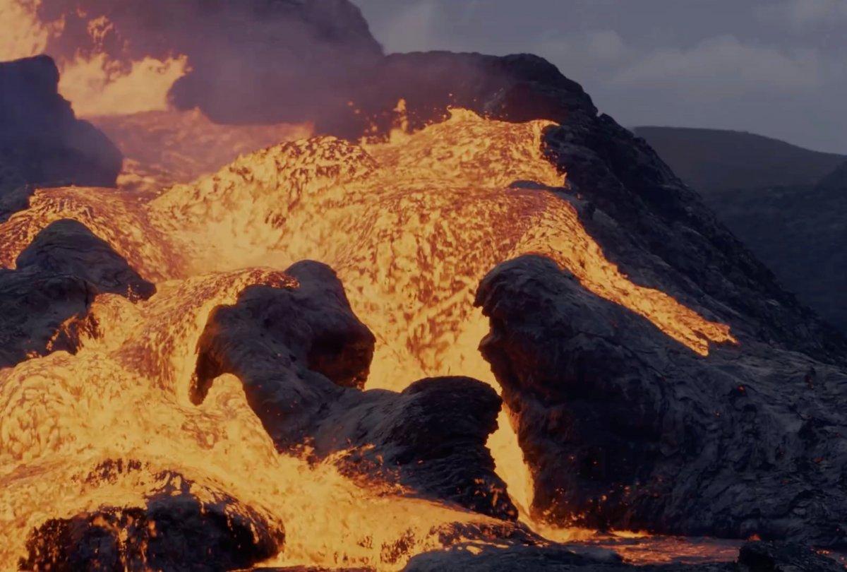 Fagradals Yanardağı lav püskürttü #2