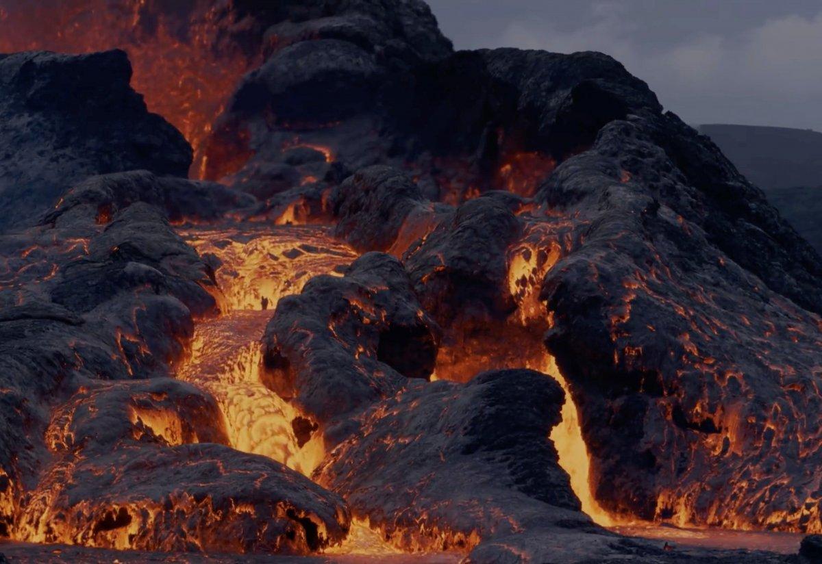 Fagradals Yanardağı lav püskürttü #1