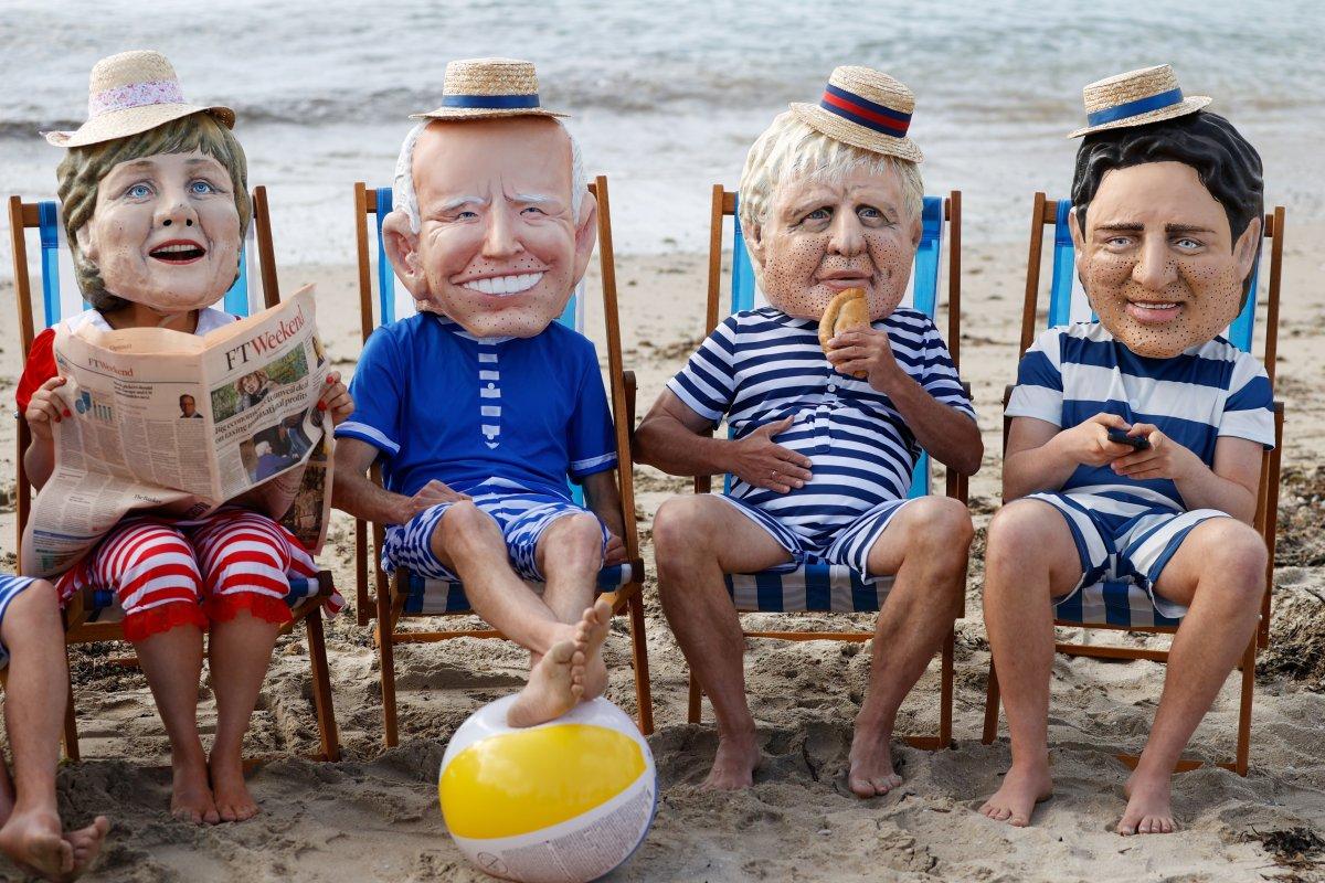G7 Zirvesi nde iklim değişikliği protestosu #1