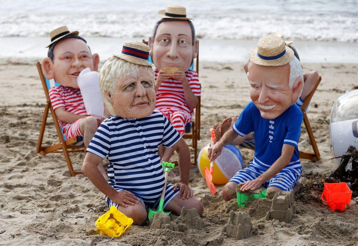 G7 Zirvesi nde iklim değişikliği protestosu #11