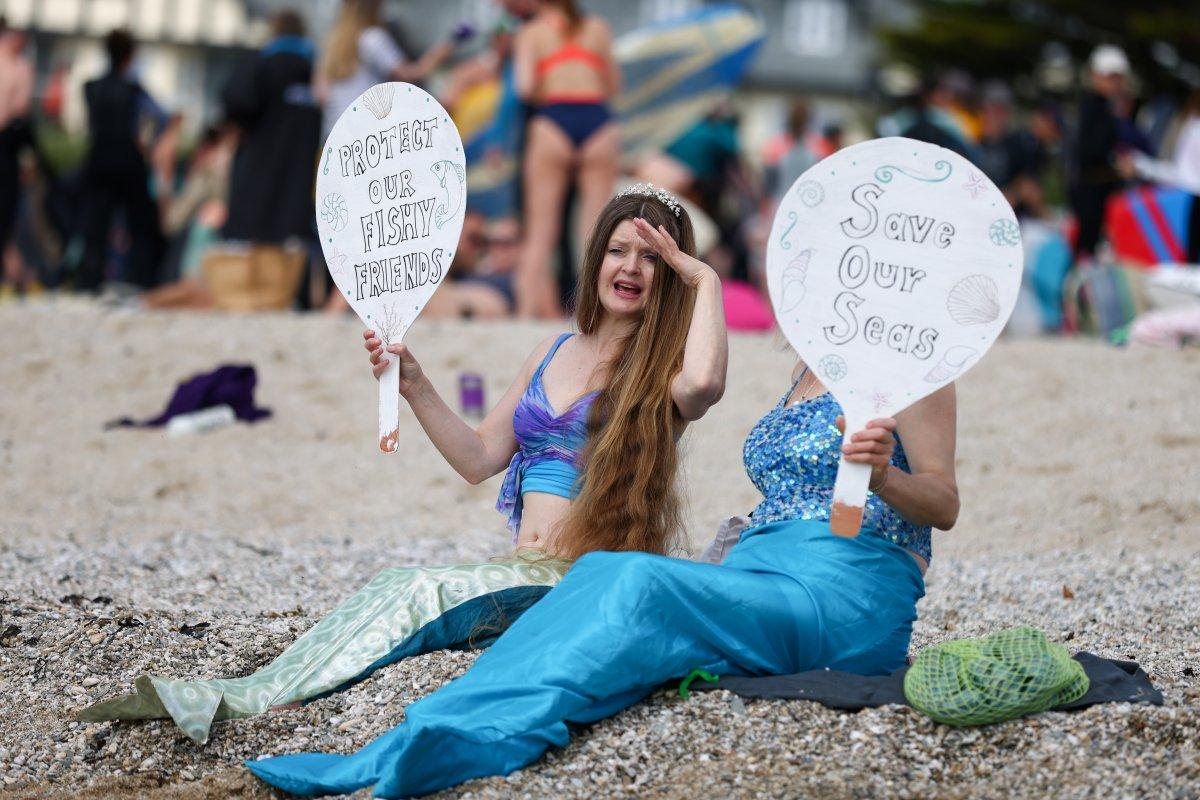 G7 Zirvesi nde iklim değişikliği protestosu #5