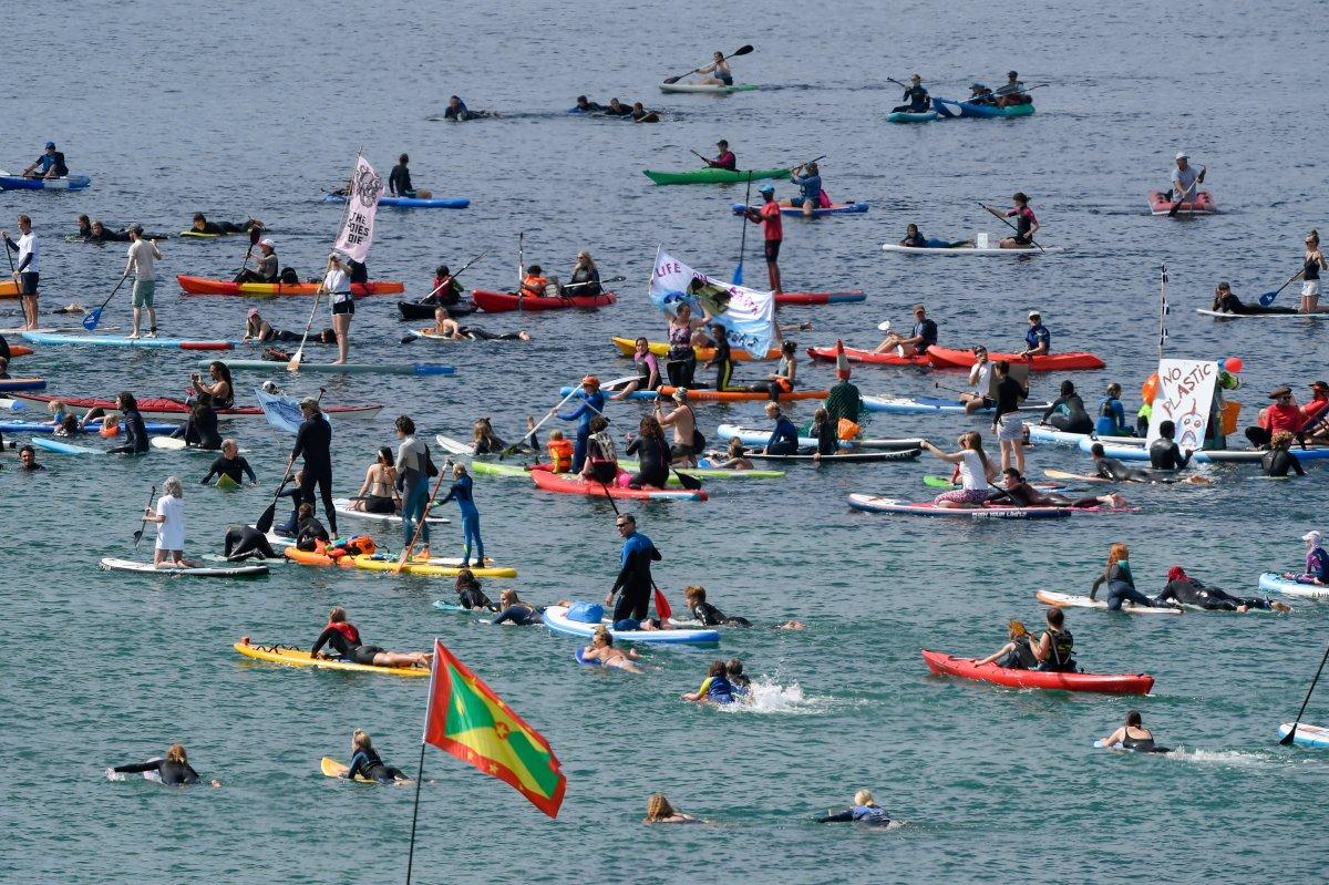 G7 Zirvesi nde iklim değişikliği protestosu #12